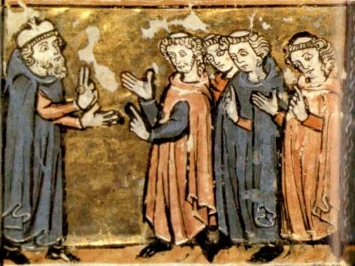 Escena de la Universidad Medieval