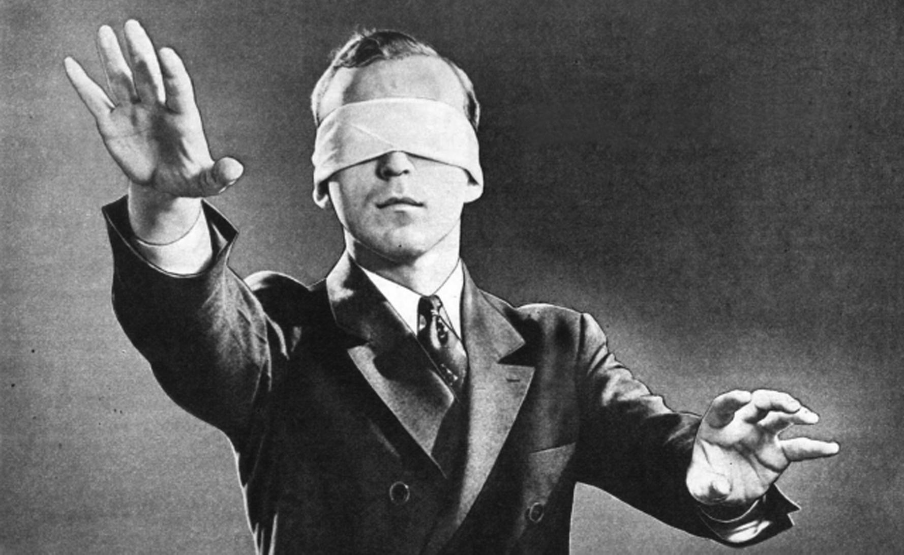 Por que somos cegos diante do óbvio?