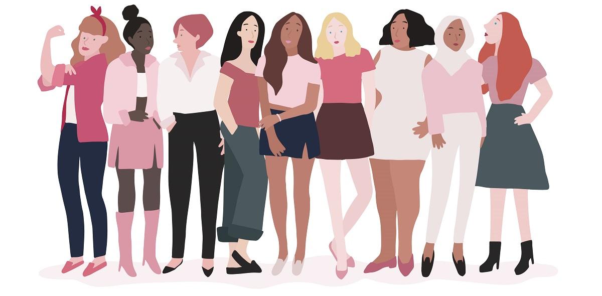 Mulheres no poder e a economia do bem estar.