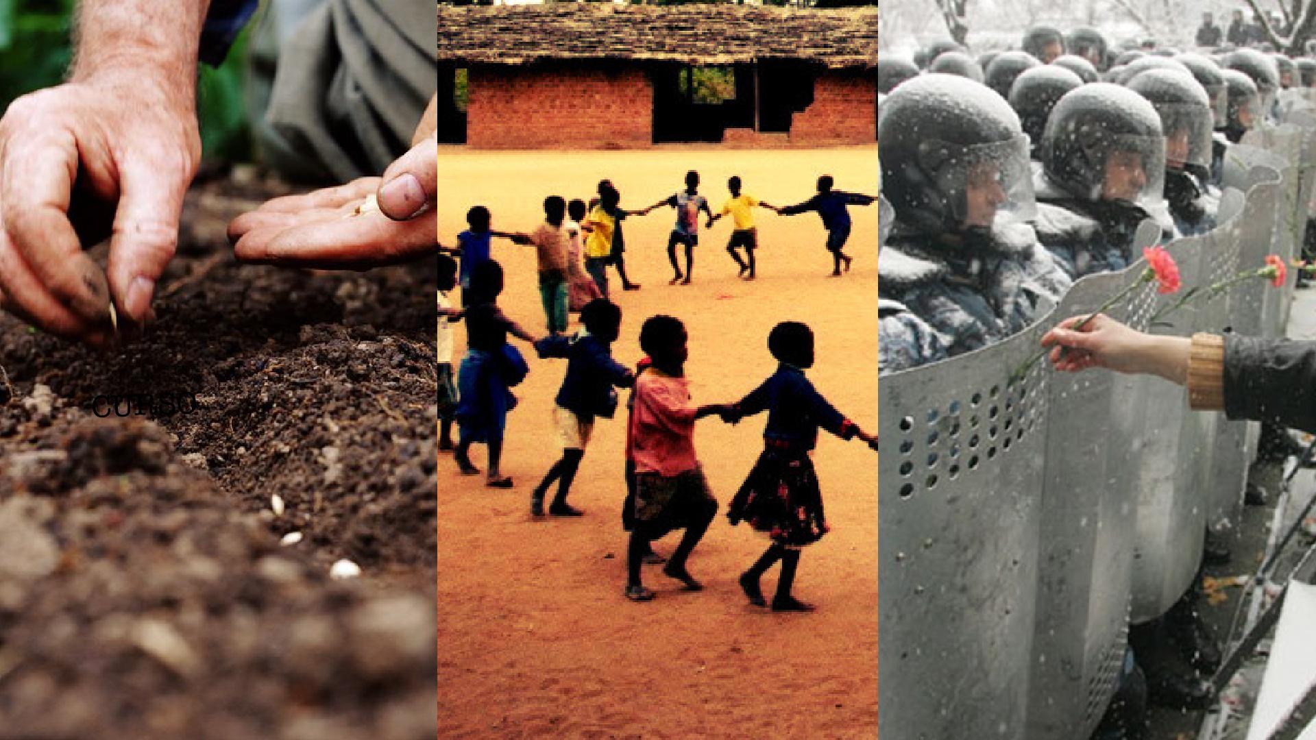 Cultura de Paz, estratégia ativa por um mundo novo